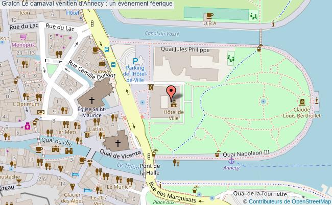 plan Le Carnaval Vénitien D'annecy : Un événement Féerique