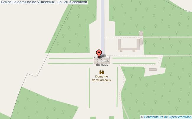 plan Le Domaine De Villarceaux : Un Lieu à Découvrir
