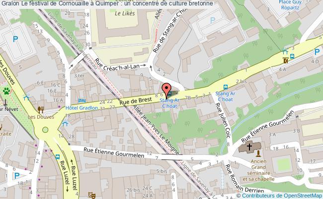 plan Le Festival De Cornouaille à Quimper : Un Concentré De Culture Bretonne