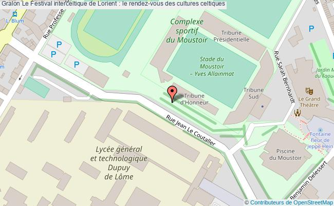 plan Le Festival Interceltique De Lorient : Le Rendez-vous Des Cultures Celtiques