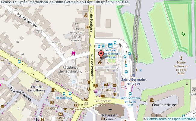 plan Le Lycée International De Saint-germain-en-laye : Un Lycée Pluriculturel