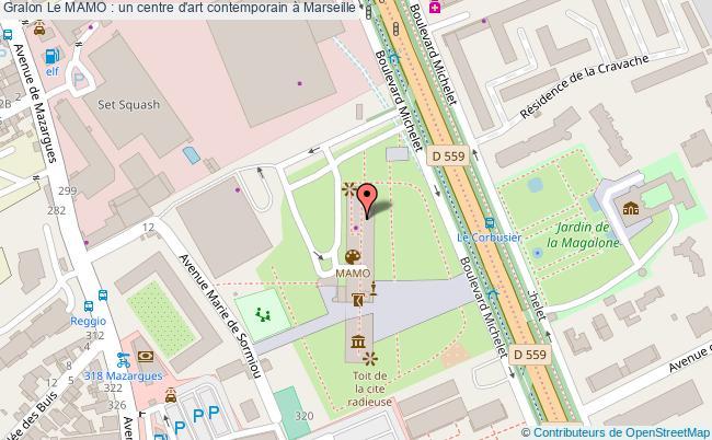 plan Le Mamo : Un Centre D'art Contemporain à Marseille