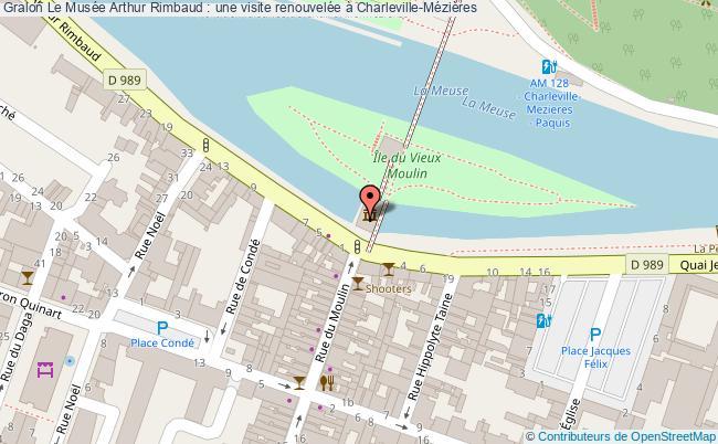 plan Le Musée Arthur Rimbaud : Une Visite Renouvelée à Charleville-mézières