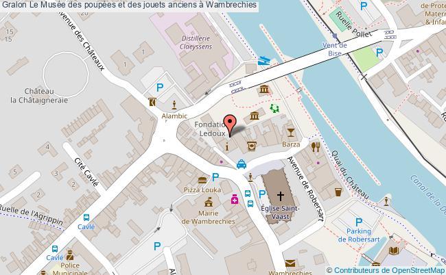 plan Le Musée Des Poupées Et Des Jouets Anciens à Wambrechies