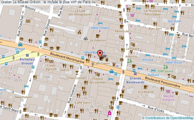 plan Le Musée Grévin : Le Musée Le Plus Vip De Paris