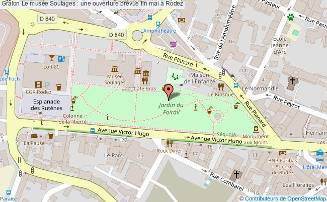 plan Le Musée Soulages : Une Ouverture Prévue Fin Mai à Rodez