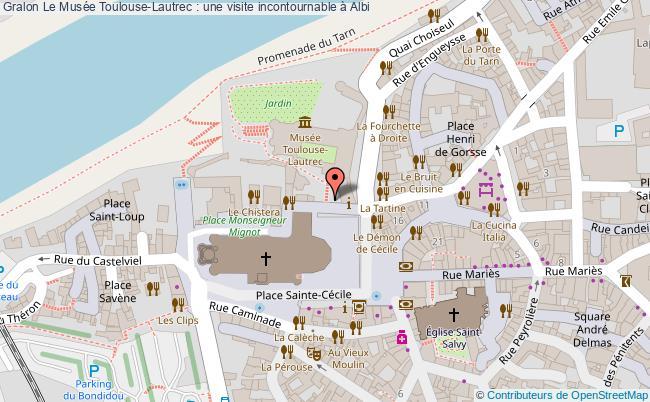 plan Le Musée Toulouse-lautrec : Une Visite Incontournable à Albi