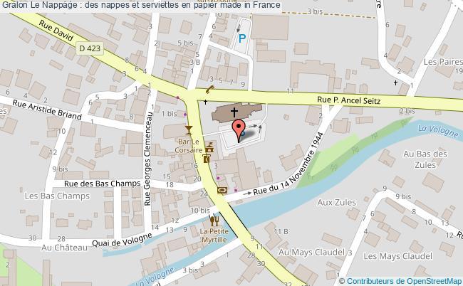 plan Le Nappage : Des Nappes Et Serviettes En Papier Made In France