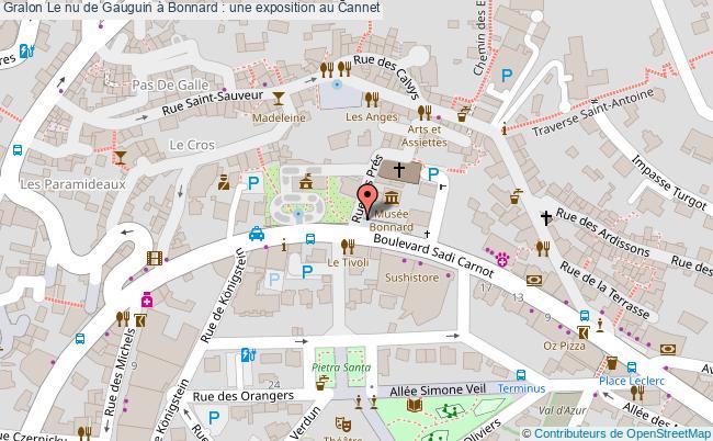plan Le Nu De Gauguin à Bonnard : Une Exposition Au Cannet