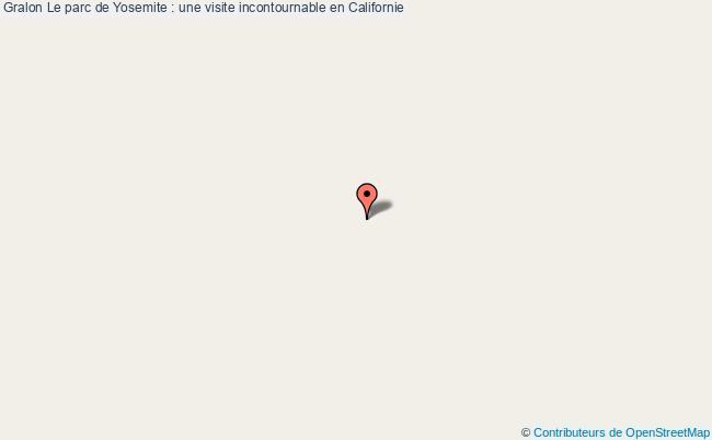 plan Le Parc De Yosemite : Une Visite Incontournable En Californie