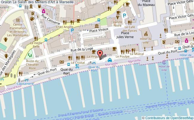plan Le Salon Des Métiers D'art à Marseille