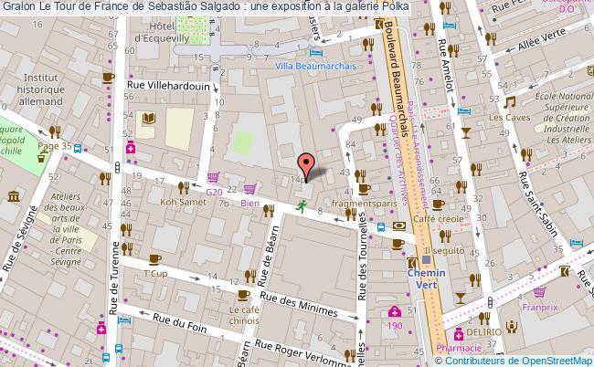 plan Le Tour De France De Sebastião Salgado : Une Exposition à La Galerie Polka