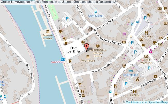 plan Le Voyage De Francis Hennequin Au Japon : Une Expo Photo à Douarnenez