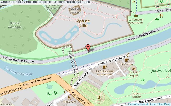 plan Le Zoo Du Bois De Boulogne : Un Parc Zoologique à Lille