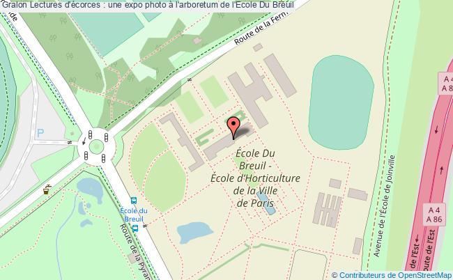 plan Lectures D'écorces : Une Expo Photo à L'arboretum De L'ecole Du Breuil