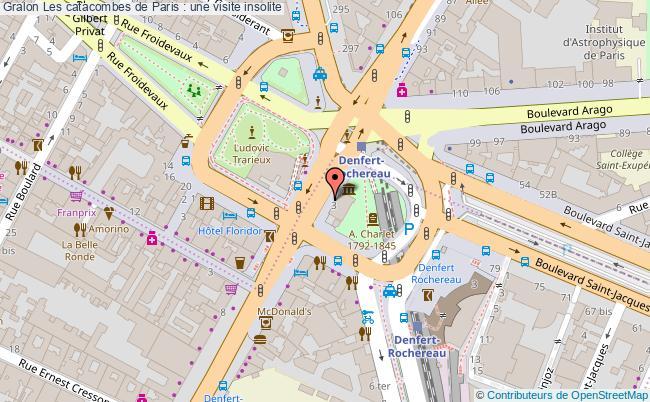 plan Les Catacombes De Paris : Une Visite Insolite