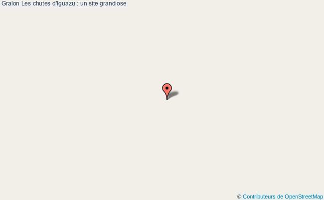 plan Les Chutes D'iguazu : Un Site Grandiose