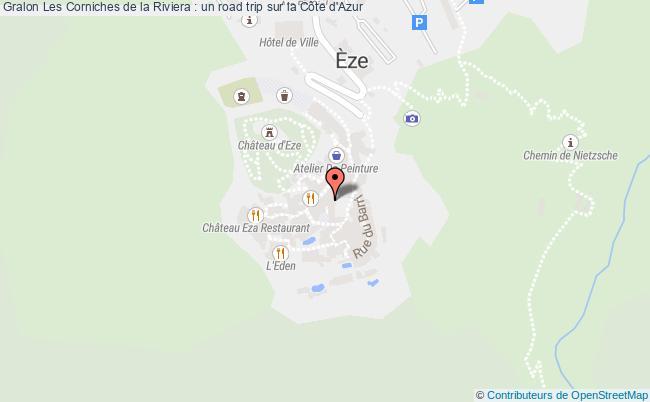 plan Les Corniches De La Riviera : Un Road Trip Sur La Côte D'azur
