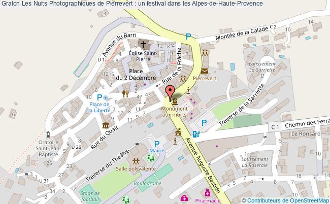 plan Les Nuits Photographiques De Pierrevert : Un Festival Dans Les Alpes-de-haute-provence