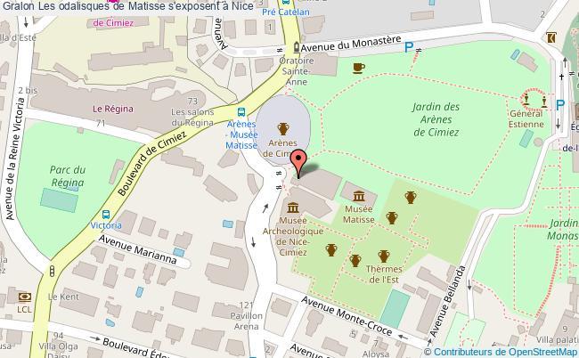plan Les Odalisques De Matisse S'exposent à Nice