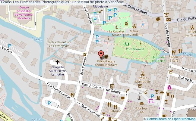 plan Les Promenades Photographiques : Un Festival De Photo à Vendôme