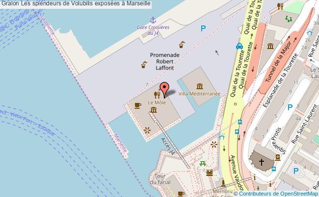 plan Les Splendeurs De Volubilis Exposées à Marseille