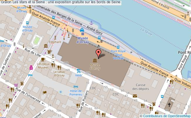 plan Les Stars Et La Seine : Une Exposition Gratuite Sur Les Bords De Seine