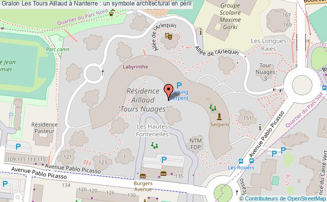 plan Les Tours Aillaud à Nanterre : Un Symbole Architectural En Péril