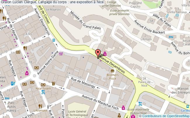 plan Lucien Clergue, Langage Du Corps : Une Exposition à Nice