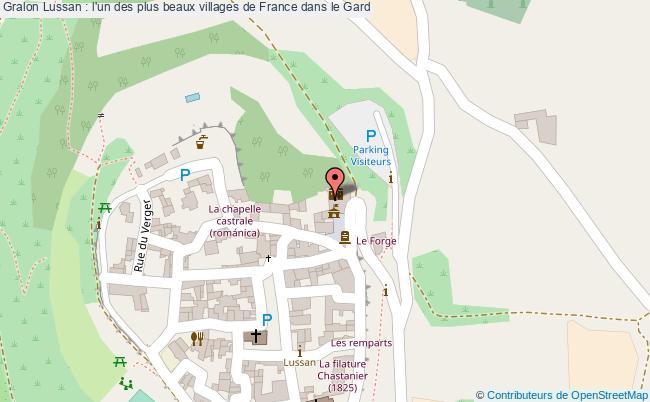plan Lussan : L'un Des Plus Beaux Villages De France Dans Le Gard