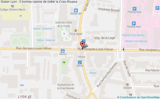 plan Lyon : 5 Bonnes Raisons De Visiter La Croix-rousse