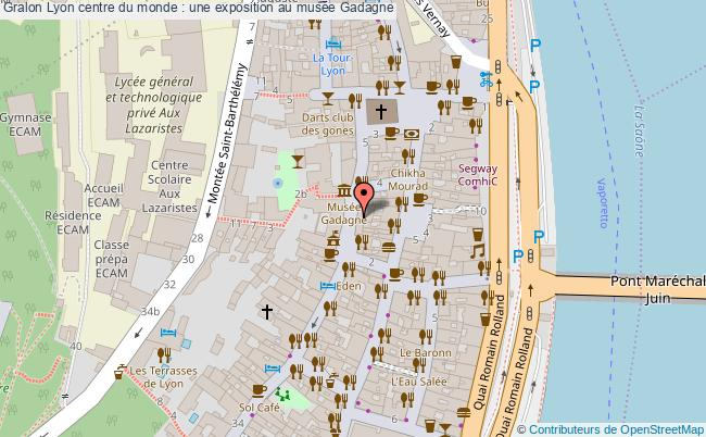 plan Lyon Centre Du Monde : Une Exposition Au Musée Gadagne