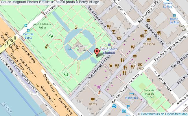 plan Magnum Photos Installe Un Studio Photo à Bercy Village