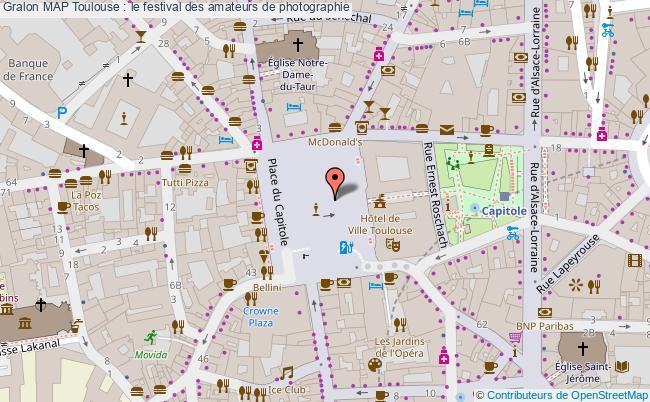 plan Map Toulouse : Le Festival Des Amateurs De Photographie