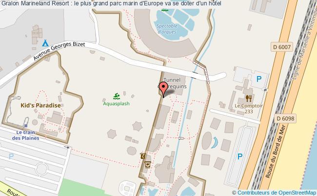 plan Marineland Resort : Le Plus Grand Parc Marin D'europe Va Se Doter D'un Hôtel