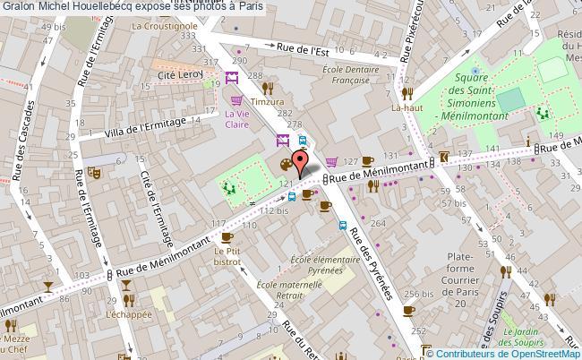plan Michel Houellebecq Expose Ses Photos à Paris