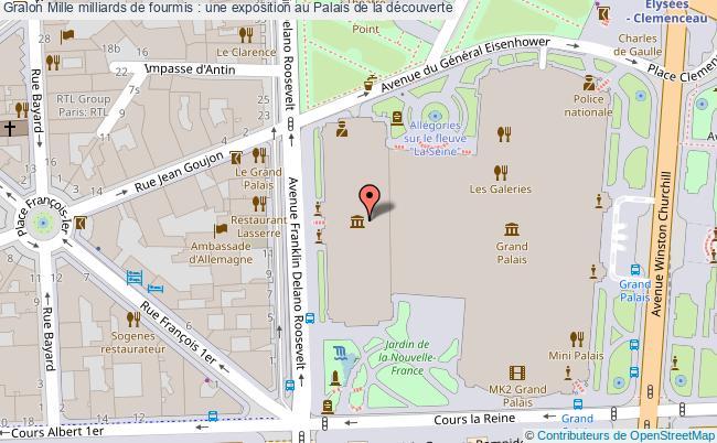 plan Mille Milliards De Fourmis : Une Exposition Au Palais De La Découverte