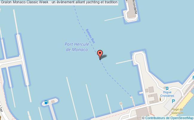 plan Monaco Classic Week : Un événement Alliant Yachting Et Tradition