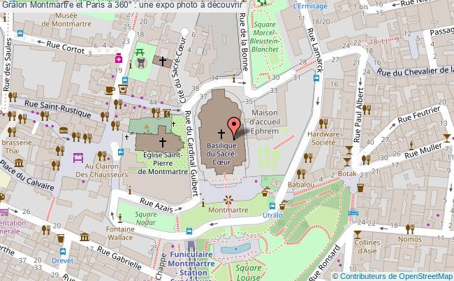 plan Montmartre Et Paris à 360° : Une Expo Photo à Découvrir