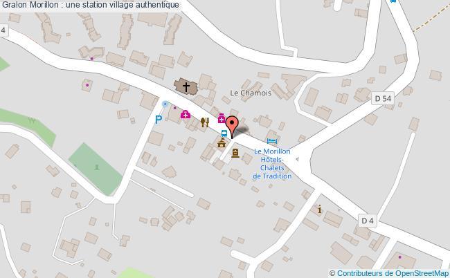 plan Morillon : Une Station Village Authentique
