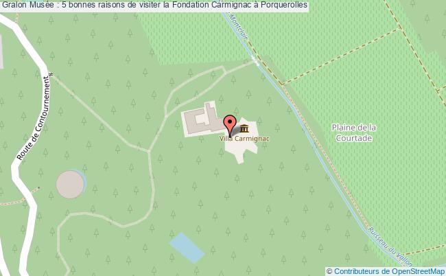 plan Musée : 5 Bonnes Raisons De Visiter La Fondation Carmignac à Porquerolles