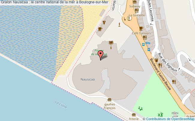 plan Nausicaa : Le Centre National De La Mer à Boulogne-sur-mer
