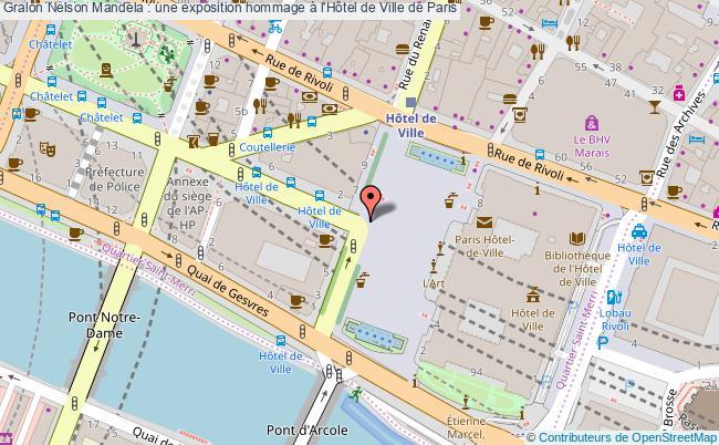 plan Nelson Mandela : Une Exposition Hommage à L'hôtel De Ville De Paris