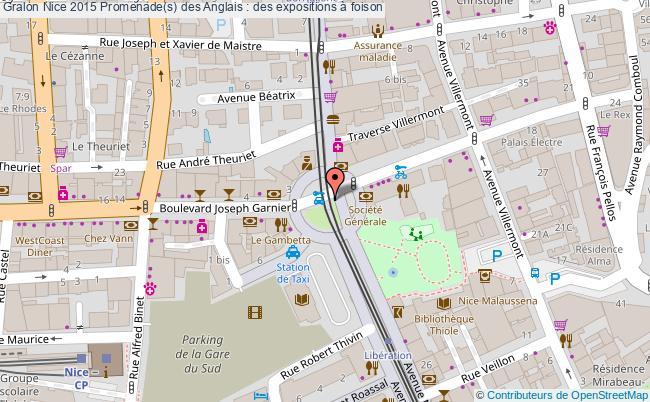 plan Nice 2015 Promenade(s) Des Anglais : Des Expositions à Foison