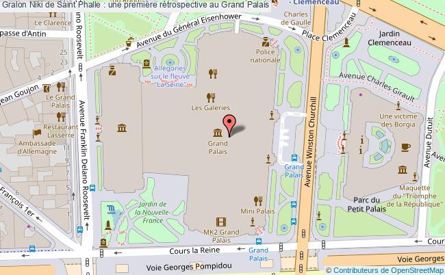 plan Niki De Saint Phalle : Une Première Rétrospective Au Grand Palais