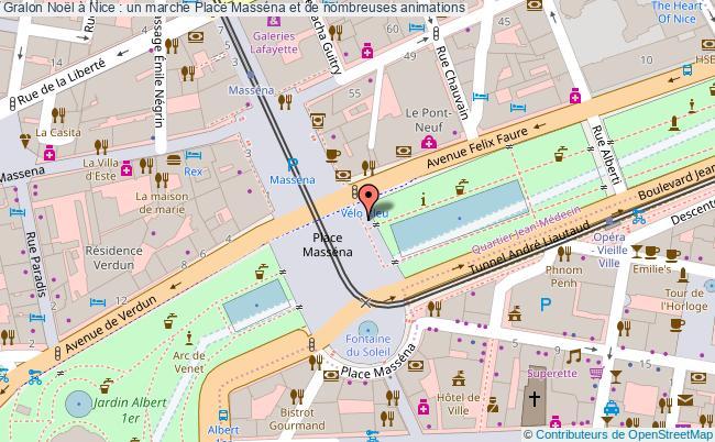 plan Noël à Nice : Un Marché Place Masséna Et De Nombreuses Animations