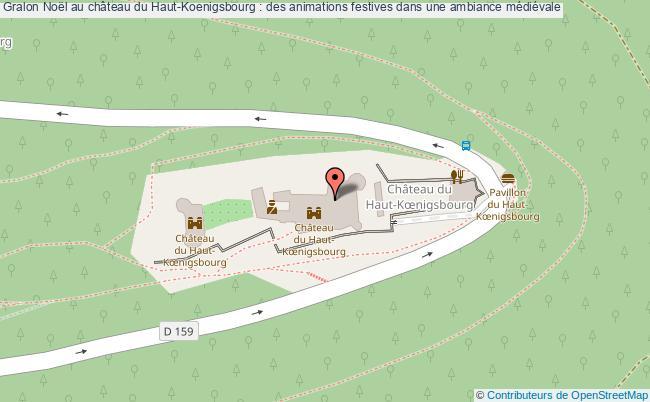 plan Noël Au Château Du Haut-koenigsbourg : Des Animations Festives Dans Une Ambiance Médiévale