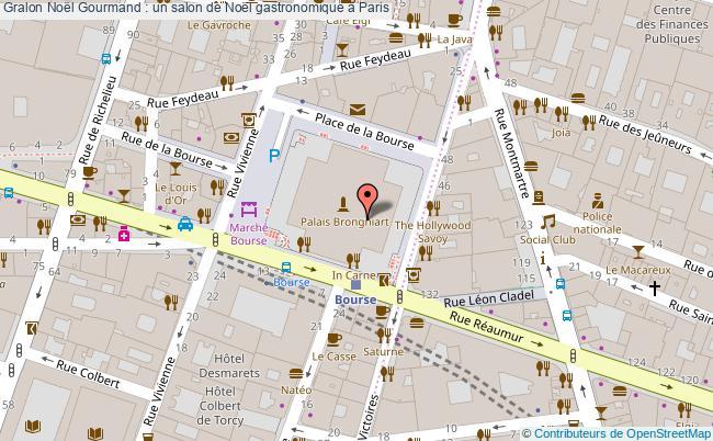 plan Noël Gourmand : Un Salon De Noël Gastronomique à Paris