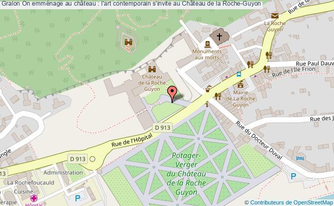 plan On Emménage Au Château : L'art Contemporain S'invite Au Château De La Roche-guyon