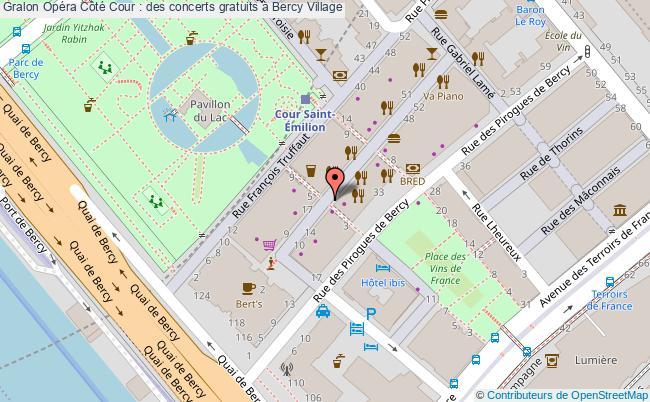 plan Opéra Côté Cour : Des Concerts Gratuits à Bercy Village